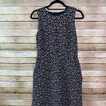 Gap Dress Size 04 Short a-Line With Pockets Speckled Black White Gray Cocktail  Photo