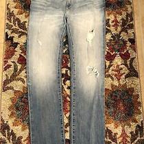 Gap Easy Straight Women's Distressed Jeans Nwt Sz 28 / 6  New Gap 1969 Photo