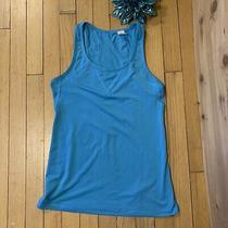 Gap Fit Gapfit Womens Breath Soft Tank Top in Blue Size Xs Free Shipping Photo
