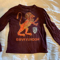 Gap Fit Kids Harry Potter Gryyfindor Long Sleeve Shirt 100% Cotton Boys Sz Xs Photo