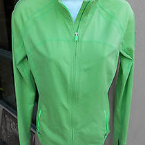Gap Fit Women's Athletic  Lime Green Jacket Size Medium Photo