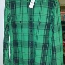 Gap Flannel Button Up Shirt Size S Never Worn Photo