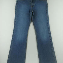Gap Flare Leg Medium Wash Cotton Denim Blue Jeans Womens Pant Sz 6 8 L 8l Sixj Photo