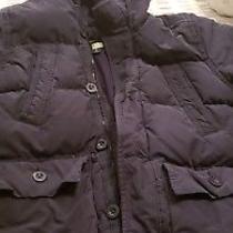 Gap Fleece-Lined Warmest Puffer Hoodie Coat Jacket Down Boys Sz 8 M Photo