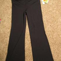 Gap Flex Fitness Pants Boot Cut Size L Black Nwt Photo