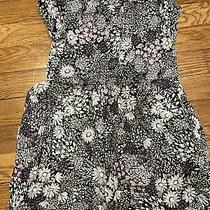 Gap Floral Dress Size Xs Lined Photo