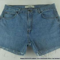 Gap Frayed Hem 100% Cotton Casual Denim Jean Shorts Womens Sz 14 16 Kgfz Photo