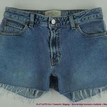 Gap Frayed Hem Stretch Jean Shorts Womens Sz 2 4 Kdof Photo