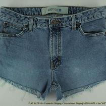 Gap  Frayed Jeans Shorts Womens Sz 6 8 Daisy Duke Sbzj Photo