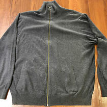 Gap Full Zip Up Stretch Jacket Sweatshirt Gray Size Xxl Excellent Condition Photo