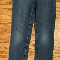 Gap Gapkids Girls 7 Slim Stretch Straight Jeans Adjustable Waist Photo