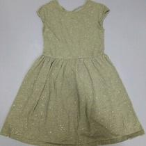 Gap Girl Short Sleeve 100% Cotton Gray Sparkling Dress Xl (For 12 Year Old) Photo