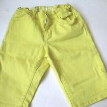 Gap Girls 7 Bermuda Shorts Adjustable Waist Euc Photo