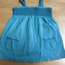 Gap Girls Aqua Tank Top - Size 5 Years - Vguc - Adorable Photo