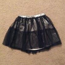 Gap Girls Black Tulle Skirt Size 5t 5 Photo