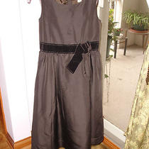 Gap Girls Brown Formal Dress Sz Xl ( 12 ) Euc Photo