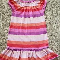Gap Girls Dress Size 5 Stripes Euc Photo
