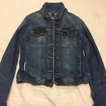 Gap Girls Gap Denim Jacket Size Xxl 160cm Photo