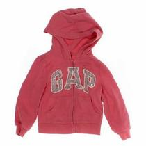 Gap Girls Hoodie Size 4/4t  Pink  Cotton Polyester Photo