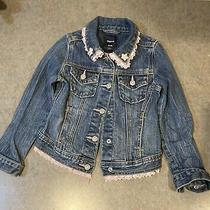 Gap Girls Jean Jacket Size Xs (4-5) Photo