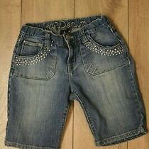 Gap Girls Jean Shorts Size 12r Guc Photo