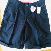 Gap Girls Navy Uniform Shorts Size 12  New Photo