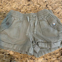 Gap Girls Olive Green Girls Shorts Small Photo