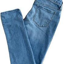 Gap Girls Size 14 Adjustable Waist Light Blue Denim Stretch Skinny Jeans Photo