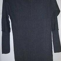 Gap Gray Long Sleeve Sweater Dress Medium Photo