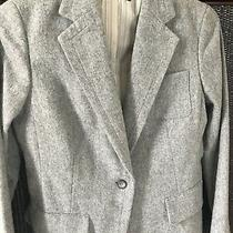 Gap Gray Wool Blazer Jacket Size 8 Photo