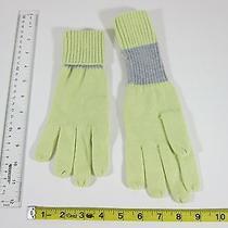 Gap Green With Gray Gloves Women Size Small Medium Photo