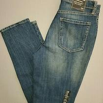 Gap High Rise Skinny Distressed Jeans Size 6 or 28 Denim Photo