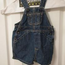 Gap Infant Bluejean Infant Overalls Size 3-6 Mo Photo