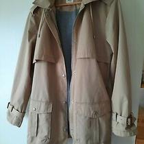 Gap Jacket Mac Rain Coat Trenchcoat Size Xl Photo