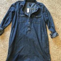Gap Jean Dress Size Xs New  Photo