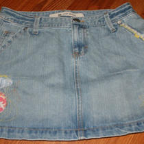 Gap Jean Mini Skirt Photo