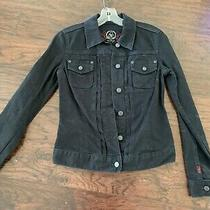 Gap Jeans 1969 Women's Vintage Black Denim Jacket Size Xs Photo