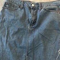 Gap Jeans Denim Skirt 10 Photo
