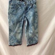 Gap Jeans  Girl's Size 5  Beading on Hem and Pockets  Cute Photo