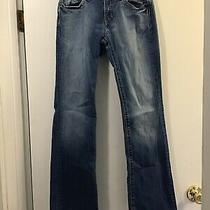 Gap Jeans Low Rise Womens Size 2 Boit Cut Blue C1 Photo