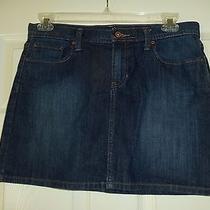 Gap Jeans Mini Skirt Size 10 Women's  Denim Stretch Photo