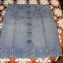 Gap Jeans Skirt Size 8 Photo