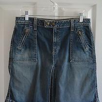 Gap Jeans Women's Blue Jean Skirt Size 8 Photo