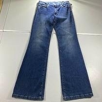 Gap Jeans Womens Size 30 R Blue Pants Denim Mid Rise Stretch Flare 1969 New 34in Photo