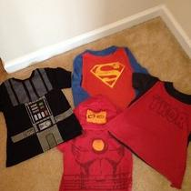 Gap Junk Food Marvel Super Heroes Shirts Size 3 3t Lot of 4 Photo