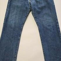 Gap Kaihara Mens 32x28 Medium Wash Japanese Selvedge Blue Denim Jeans  Photo