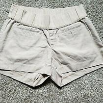 Gap Khaki Maternity Shorts Size 14 Photo