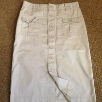Gap Khakis Safari Style Skirt Sz 0 Photo