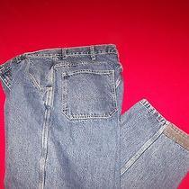 Gap Kick Plate Denim  Jeans  Tag Sz 38 X 30 Photo