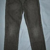 Gap Kids 1969 Boys Black Straight Leg Adjustable Waist Jeans - Euc - Size 8 Slim Photo